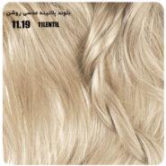 رنگ موی بیول بلوند پلاتینه عدسی روشن 11.19