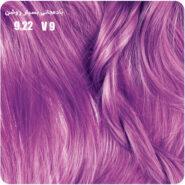 رنگ موی بیول بادمجانی بسیار روشن 9.22