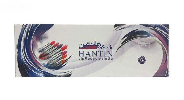 پالت رژ لب هانتین مدل Lip Rouge Palette