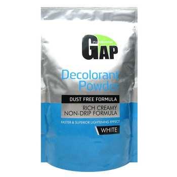 پودر بی رنگ کننده مو گپ مدل White حجم 500 گرم