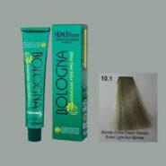 رنگ مو بدون آمونیاک بلونیا بلوند خاکستری پلاتینه شماره 10.1