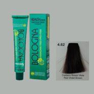 رنگ مو بدون آمونیاک بلونیا یاقوتی شماره 4.62