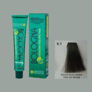رنگ مو بدون آمونیاک بلونیا بلوند خاکستری تیره شماره 6.1