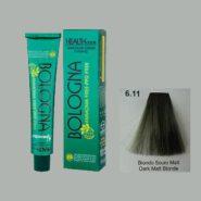 رنگ مو بدون آمونیاک بلونیا بلوند زیتونی تیره شماره 6.11