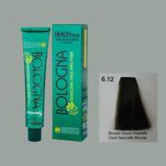 رنگ مو بدون آمونیاک بلونیا بلوند نسکافه ای تیره شماره 6.12