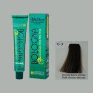 رنگ مو بدون آمونیاک بلونیا بلوند طلایی تیره شماره 6.3