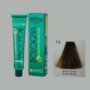 رنگ مو بدون آمونیاک بلونیا بلوند طلایی شماره 7.3