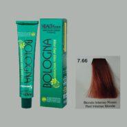 رنگ مو بدون آمونیاک بلونیا بلوند بلوند قرمز شماره 7.66