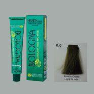 رنگ مو بدون آمونیاک بلونیا بلوند روشن سری طبیعی شماره 8.0
