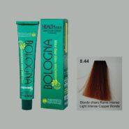 رنگ مو بدون آمونیاک بلونیا بلوند مسی خیلی روشن شماره 8.44