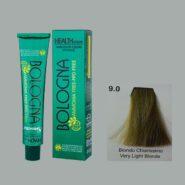 رنگ مو بدون آمونیاک بلونیا بلوند خیلی روشن سری طبیعی شماره 9.0