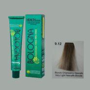 رنگ مو بدون آمونیاک بلونیا بلوند نسکافه ای خیلی روشن شماره 9.12