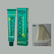 رنگ مو بدون آمونیاک بلونیا روشن کننده بلوند مرواریدی شماره 902 سری روشن کننده