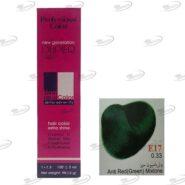 رنگ مو دوپیر واریاسیون سبز دوپیر E17 شماره 0.33 سری واریاسیون