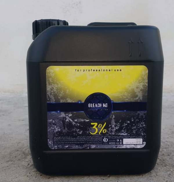 اکسیدان 4 لیتری بلیچ کو 3 درصد