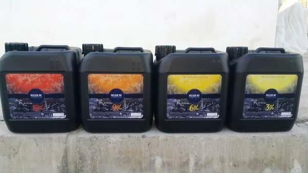 اکسیدان 4 لیتری بلیچ کو سه درصد شش درصد نه درصد دوازده درصد